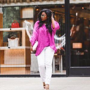 Lovely Linen Spring Tunic